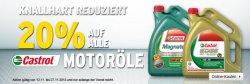 Bei A.T.U. gibt`s gerade 20% auf alle Castrol-Motoröle + 5€-Gutschein