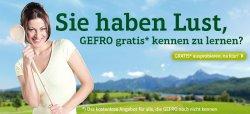 Bei Gefro jetzt 5 kostenlose Produkte abstauben, Testpaket mit Original Gefro-Produkten