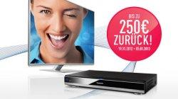 Bis zu 250€ Cashback beim Kauf eines Panasonic-Smart-Viera-TVs oder Blu-ray-Rekorder, Dealtext lesen!