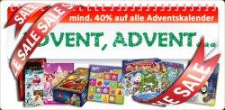 bis zu 40% auf Adventskalender @worldofsweets.de! z.B. Milka Kalender für 2,66€ oder Lindt&Niederegger für 10,14€ statt 16€