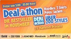 Deal-a-Thon Aktion auf 4clever.de – bis zu 80% Rabatt auf Streetwear & T-Shirt´s von Blend, Ecko, Sir Benni Miles ab 5€