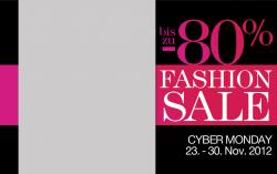 CyberMonday auch im Shoppingclub BuyVIP: Kleidung mit bis zu 80% Rabatt