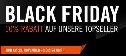 Cyperport Black Friday: 10% Rabatt auf alle Topseller Artikel nur am 23.11.