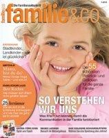 Ein Jahresabonnement der Zeitschrift familie&co GRATIS