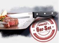 Extrascharfes Messerset 6-tlg. orig. Rosenstein & Söhne gratis bei Pearl