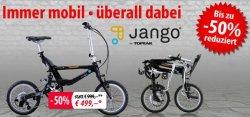 Faltfahrräder bis zu 50% reduziert bei fahrrad.de