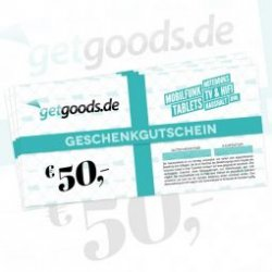 50- Euro Geschenkgutschein für nur 40,- Euro @getgoods.de