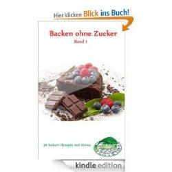 """Gratis eBook """"Backen ohne Zucker"""" @amazon"""