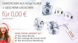 Gratis Ohrstecker in 925er Silber – nur Versandkosten bei @Silvity