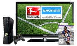 Gratis Xbox 360 inkl. FIFA 13 als Zugabe beim Kauf eines Grundig Fernsehers @amazon