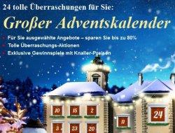 Großer Online-Adventskalender! Jeden Tag ein Top Angebot und bis zu 74% sparen @ Weltbild.de