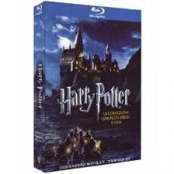 Harry Potter Komplettbox auf Blu-ray nur 49,20€ bei Amazon Italien