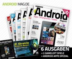 Jahresabo des Android-Magazins XL + 2 Gratis-Spiele + Spezialmagazin für 14,99€ @dailydeal