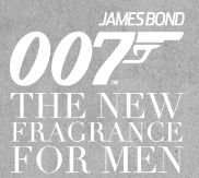 James Bond 007, Herrenduftprobe (0,7 ml Inhalt) gratis bestellen