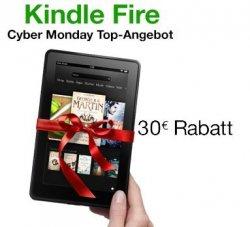 Kindle Fire Cyber-Monday: 30 Euro Preisnachlass – nur bis Montag! @Amazon.de