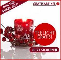 Klingel.de 14,95€ – Gutschein + Gratis Teelicht — nur noch heute!