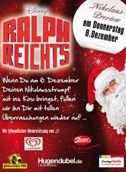 Lasst euch vom Nikolaus 06.12. kostenlos euren leeren Nikolaus-Strumpf im Cineplex befüllen