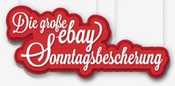Morgen ab 8 Uhr: ebay Sonntagsbescherung Markenartikel bis zu 50% reduziert
