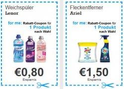 Neue Rabatt Coupons zum Ausdrucken für Markenprodukte