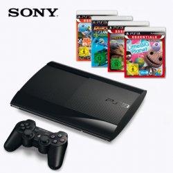 [Lokal @Aldi] PlayStation 3-Bundle 12 GB mit 4 Spielen für 249€ / DUALSHOCK 3 Wireless-Controller für 39,99€ / Move-Motion-Controller für 24,99€