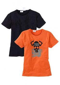 Sale, Herrenwäsche bis 53% reduziert, z.B: 2er Pack Shirts für 6,99 €uro @ bonprix