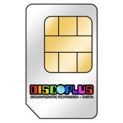 SIM Karte discoPlus All-In 10 im D-Netz 24 Monate ohne Grundgebühr nur 9,95€ @notebooksbilliger
