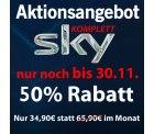 Sky komplett + Receiver + HD + Sky Go für 34,90€ @ mobil-and-fun.de (Neukunden)