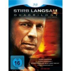 Stirb Langsam – Quadrilogy 1-4 auf Blu-ray für nur 24,99€ auf Amazon.de