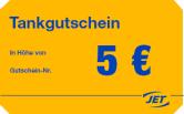 """5€ Tankgutscheine für """"Jet"""" mit 15% Rabatt @Gutscheinbuch"""