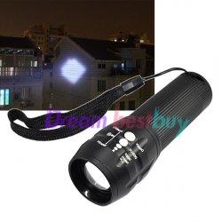 Taschenlampe mit superstarken 240 Lumen mit Cree Q5 LED für 5,41€ @ebay