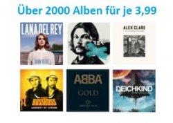 Über 2.000 verschiedene MP3-Alben für nur 3,99€ @Amazon u.a.Lana del Rey ,The Boss Hoss.