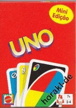 UNO Mini Edition von Mattel für 2€ +1€ Versand