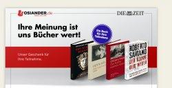 """Vier Ausgaben """"Die Zeit"""" und ein Buch kostenlos"""