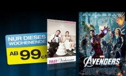 Wochenend-Aktion bei Maxdome – diverse Blockbuster für nur 99 Cent ausleihen
