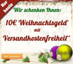 Nur heute auf Plus.de: 10€ Weihnachtsgeld + versandkostenfrei (MBW 60€)