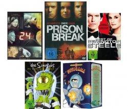2 TV-Serien Bei Amazon für nur 20 Euro inkl. Versand – freie Wahl aus 21 Serien