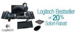 -20% beim Kauf von 2 Logitech Produkten @Amazon.de