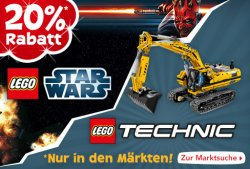 [LOKAL] 20% Rabatt auf Lego Technic und Lego Star Wars in den Toys´R´us Filialen