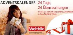 [Lokal in den Weltbild-Filialen] 24 Tage, 24 Überraschung+ am 06.12.2012 Gratis Scholaden Weihnachtsmann