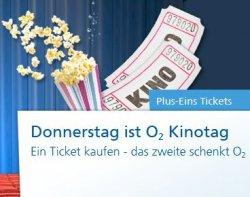 2für1-Kinogutscheine für CinemaxX und UCI-Kinowelt