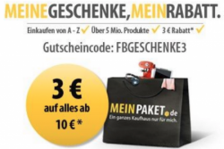 Auf viele Bundesliga Fanartikel bis zu 50% Rabatt! +10% extra Rabatt od. 3€ @MeinPaket.de