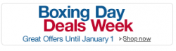 Boxing Day Deals Week 2012  (8 Tage Schnäppchen) auf amazon.co.uk