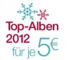Die besten Alben aus 2012 MP3 [AMAZON] für nur 5€