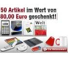 Druckerzubehör verschenkt 50 Artikel im Wert von 80€ (nur 5,90€ Versand zahlen)