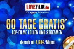 Gratis 60Tage LOVEFILM Gutschein für Neukunden