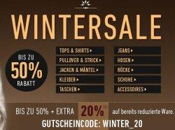 Hochwertige Markenklamotten mit bis 50% im Sale + zusätzlich 25% Gutschein @7trends.de