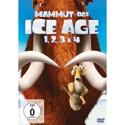 Ice Age Teil 1-4 (Mammut-Box) mit 4 DVDs für 19,99 € inkl. Versand @Amazon.de