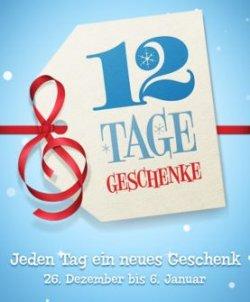 iTunes – 12 Tage Geschenke kostenlos | Songs, Musikvideos, Apps, TV-Folgen etc. ab 26.12