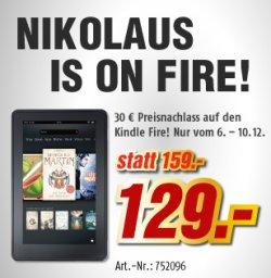 Kindle Fire für 129€ (30€ sparen) vom 6.12-10.12 in den MediMax-Filialen, bundesweit