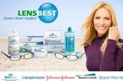 Kontaktlinsen und Pflegemittel bei Lensbest: 16€  Gutschein MBW 30€